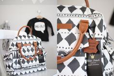 Graphic Devotion Leder Wickeltasche Elodie Details Diaperbag