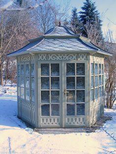 Die schönsten Pavillons: Pavillons winterfest machen - Wohnen & Garten