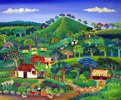The Pretty Hills  by Karmen Garcia   2007