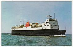 Postcards - Canada # 200 - M.V.S. John Hamilton Grey - CN Ships, Eastern Canada Salings