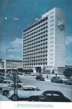 Ministery of Works Building Nairobi 1960