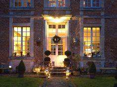 Vendangeoire au coeur de la campagne picarde / Vendangeoire in the heart of Picardie : www.maison-deco.com/reportages/reportages-maisons/La-superbe-restauration-d-un-vendangeoir