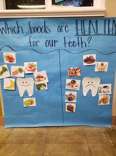 Dental Health Themed Preschool Activities and Crafts