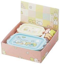 SUMIKKO GURASHI — 2 Container Bento Box with Hand Towel $13.00 http://thingsfromjapan.net/sumikko-gurashi-2-container-bento-box-with-hand-towel/
