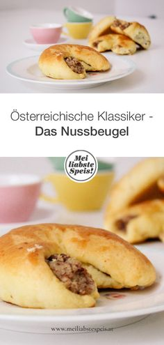The Nussbeugel has a tradition in Austria - not for nothing, because these little specialties delight every coffee table. # Austrian classics The Nussbeugel has a tradition in Austria - not for nothing, because Baking Recipes, Cookie Recipes, Fruit Plus, Mini Corn Dogs, Nutella Muffins, Hot Dog Recipes, Dog Cakes, Dream Cake, Hot Dog Buns