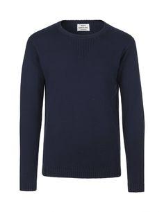 Navy blue karborn Cotton Knit