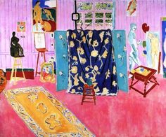 The Pink Studio, 1911 by Henri Matisse