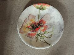 BARBOTINE – Claire BASLER Ceramic Pots, Ceramic Clay, Ceramic Painting, Porcelain Ceramics, Slab Pottery, Pottery Plates, Ceramic Pottery, Pottery Art, Stained Glass Rose