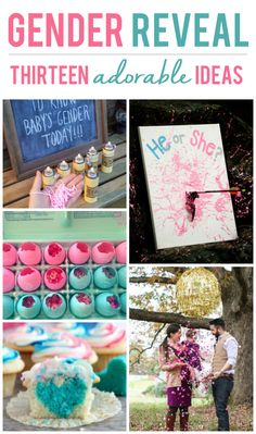 13 Adorable Gender Reveal Ideas