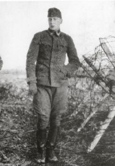 Alexander Lernet Holenia Austrian author as soldier during First World War Photography Around 1915 [Alexander Lernet Holenia oesterr Schriftsteller...