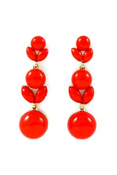 Delish Poppy Earrings   Awesome Selection of Chic Fashion Jewelry   Emma Stine Limited