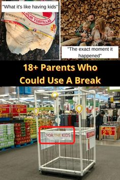 18+ Parents Who Could Use A Break This year has been tough for everyone, but it has been particularly hard for a lot of parents who have had to homeschool their kids, and have been stuck at home with them 24/7.