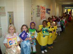 Mrs. Long's Class: Book Character Parade