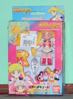 Pachi Pachi cute figure figurine Super Sailor Moon SuperS Bandai Japanese #Bandai