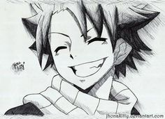Fairy Tail- Natsu by jhonakitty