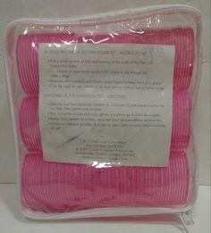 Large Self Grip Rollers 9 Pack Pink #61505-A Conair  #Conair