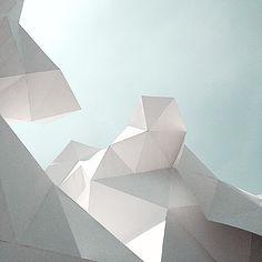 ou comment créer volumes et espaces... ( cf mes ateliers kirigami)    @koichi1717