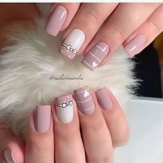 Stunning Striped Nails Art Ideas for Prom ❀ - Diaror Diary - Page 29 ♥ 𝕴𝖋 𝖀 𝕷𝖎𝖐𝖊, 𝕱𝖔𝖑𝖑𝖔𝖜 𝖀𝖘!♥ ♡*♥ ♥ ♥ ♥ ♥ ♥ ♥ ♥ ♥ ♥ ♥ ღ♥Hope you like this collection about striped nails! ღ♡*♥ 𝖘𝖙𝖚𝖓𝖓𝖎𝖓𝖌 𝖘𝖙𝖗𝖎𝖕𝖊𝖉 𝖓𝖆𝖎𝖑𝖘 𝖉𝖊𝖘𝖎𝖌𝖓 ♡*♥ ღ Stylish Nails, Trendy Nails, Perfect Nails, Gorgeous Nails, Hair And Nails, My Nails, S And S Nails, Romantic Nails, Nagellack Trends