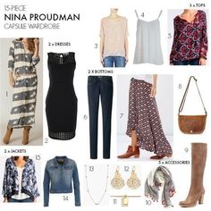 Nina Proudman will be back on our screens in To get us in the wardrobe mood, I& created a capsule wardrobe based on her boho style. Capsule Wardrobe Mom, Capsule Outfits, Fashion Capsule, Mom Wardrobe, Warm Outfits, Boho Outfits, Fashion Outfits, Travel Outfits, Fashion Ideas