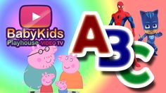 Learns the alphabet song with your favorite characters. Peppa pig, Spiderman, Catboy e many others Disney characters.  Learn Colors, learn abc song and nursery rhymes.   #baby #kids #video #learn letters #learn colors #spiderman #peppa pig #catboy #pjmask #disney #nursery rhymes #surprise #fun #learn #children #colors #heroes #surprise toys #education #toys #review channel #game #funny videos #kids toys #jouet #games #funny #eggs #abc #color #frozen #peppa #pig #surprise eggs #cartoon c #tv
