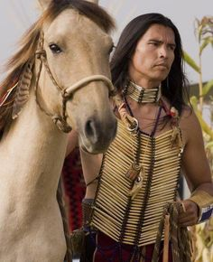 David Midthunder in the film 'My Indian'. { I don't usually pin film pictures on this board, but ....}