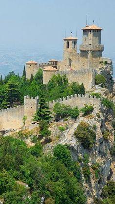 The Guaita Tower, San Marino, Italy...mi permetto San Marino e' una Reppublica, non è stato italiano...