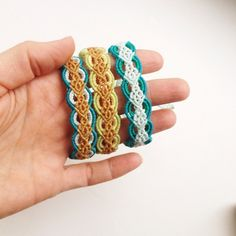 Macrame bracelets More
