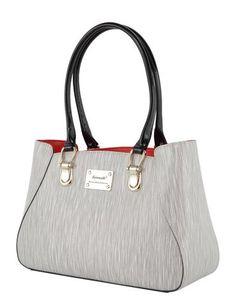 Illusion Medium Leather Handbag