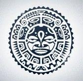 Polynésien tatouage style