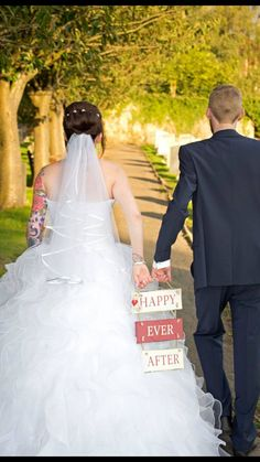 Happy Ever After .... We love our story .