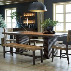 Dining room table | Crate and Barrel