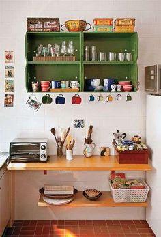 15 Ideias Decoração de Cozinha Barata e Simples | Decoração e Projetos