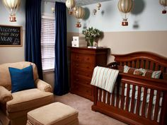 15 Smart and Stylish Baby Rooms >> http://www.diynetwork.com/home/15-smart-and-stylish-baby-rooms/pictures/index.html?soc=pinterest
