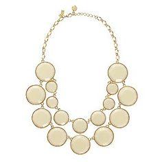 $99 on sale today...baublebox bib necklace kate spade