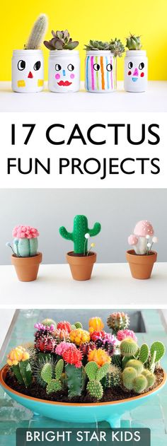 For more child-friendly ideas and DIY's go to blog.brightstarkids.com.au #cactusfunprojects #crazyaboutcactus #cactuslover