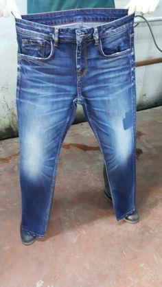 Jean Joggers Men, Levis Pants, Blue Jeans, Denim Jeans, Azul Indigo, Product Development, Fashion Outfits, Mens Fashion, Vintage Jeans