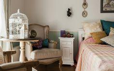 Фото спальня Загородный дом / InteriorExplorer.ru