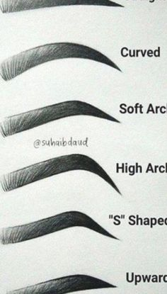 Soft Makeup Looks, Makeup Looks For Brown Eyes, How To Draw Eyebrows, Drawing Eyebrows, Korean Eyebrows, Eyebrow Shading, Shape Eyebrows, Perfect Eyebrows, Nancy Sinatra