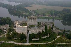 ✈️ Photo aérienne : Les Andelys - Eure (27)