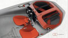 Renault Trezor Concept Design Sketch by Eduardo Lana