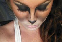 Squirrel makeup