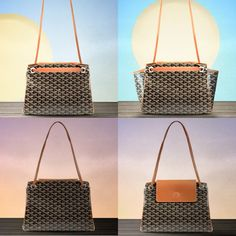 4 transformation of the New Goyard Rouette Soft Bag in 1 picture, details here. Purse Wallet, Louis Vuitton Damier, Product Launch, The Incredibles, Purses, Luxury, My Style, Wallets, Pattern