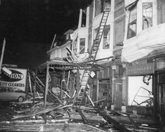 This day in St. Louis: February 10, 1959 - A tornado roared through the heart of St. Louis, destroying a cluster of restaurants and taverns and killing 21 people. It also toppled the KTVI TV tower and left more than 300 people injured.