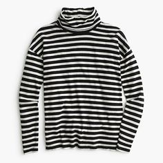 Oversized striped turtleneck : 50% off select final sale styles | J.Crew