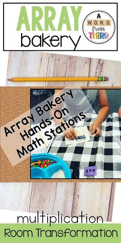 This activity pack includes 7 hands-on, arrays activities for students help reinforce arrays, the commutative property, the distributive property, fact families, and problem solving. Great hands on/engaging support for programs like Engage NY and Eureka Math. Multiplication Activities, Math Activities, Commutative Property, Engage Ny, Eureka Math, Fact Families, Math Stations, Problem Solving, Teaching Resources