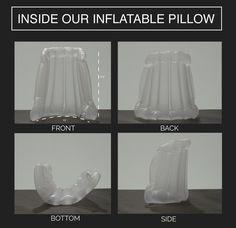 Casaco com capuz inflável permite sonecas em qualquer lugar | Pagenotfound - O Globo