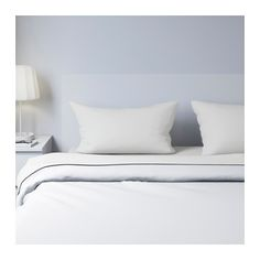 IKEA - DVALA, Sheet set, Queen, , Cotton feels soft and nice against your skin.Extra soft and durable quality since the bedlinen is densely woven from fine yarn.Fits mattresses with a thickness up to since the fitted sheet has elastic edging.