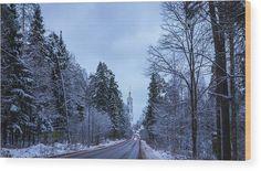 #AnnaMatveeva #photograph #FineArtAmerica #ArtHome #WoodPrint #artdecor #decor #homedecor #Fantastically #Beautiful #Winter #Cristmas #NewYear #FineArtAmerica #ArtHome #PrintsForSale #Nature #Road #Snow #landscape www.pixels.com