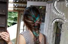 Colorful braids | Kenra Professional. Braided Hairstyles.