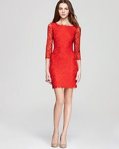 Red lace sheath dress #dotshopsave